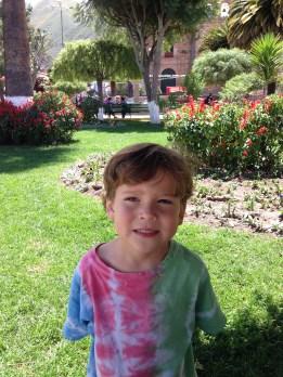 Judah in the main plaza