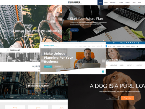 Top 10 Free WordPress Business Themes