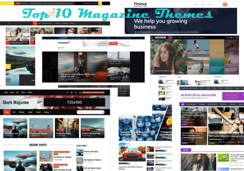 Top 10 free magazine WordPress themes
