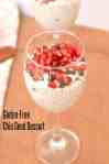 Chia seed pudding is so versatile that just gather few ingredients and whip up in a new flavor altogether. Today I am sharing chia seed pudding which is topped with pomegranate and choco chips. In this pudding, coconut milk is used for soaking and coconut water to bring it to the consistency required. www.codecook.com