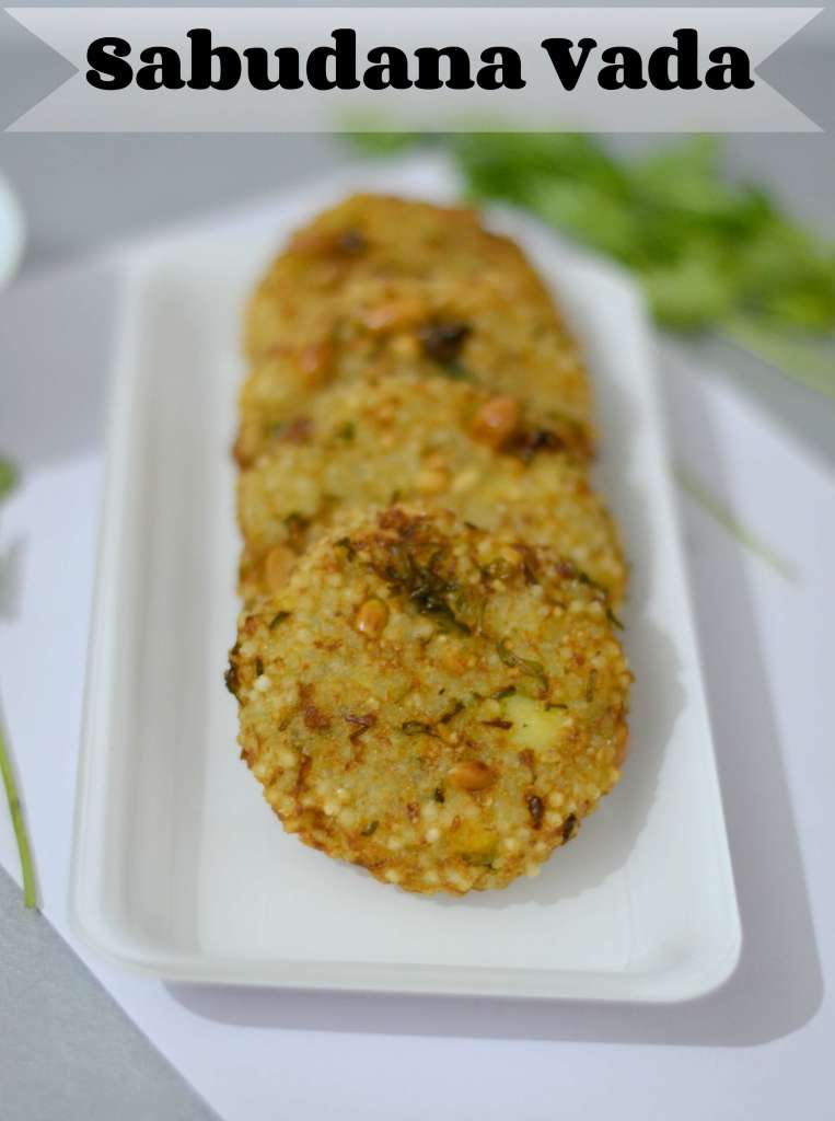 Sabudana vada usually served in fasting and festival season in India. These vadas are a preferred item during fasting, especially in Navratra. In Maharashtra, this is specially served at breakfast or snack time. Sabudana vada is also a very easy and quick snack for kids tiffin box, either pack for lunch or in snack time.