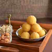 Yellow Moong Dal Laddu Recipe | How To Make Moong Dal Laddu | Moong Ki Dal Ke Laddu
