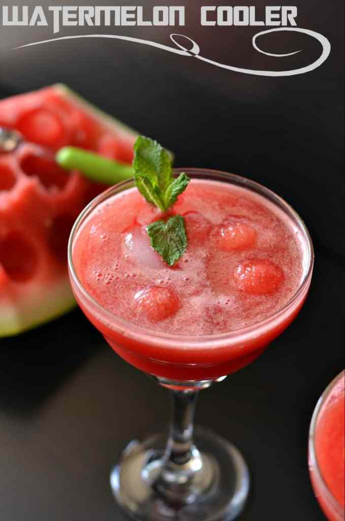 Watermelon juice is very simple and quick to prepare at home. Blending fresh watermelon, adding a bit of black salt and roasted cumin powder and your refreshing summer cooler watermelon juice is ready to beat the heat.