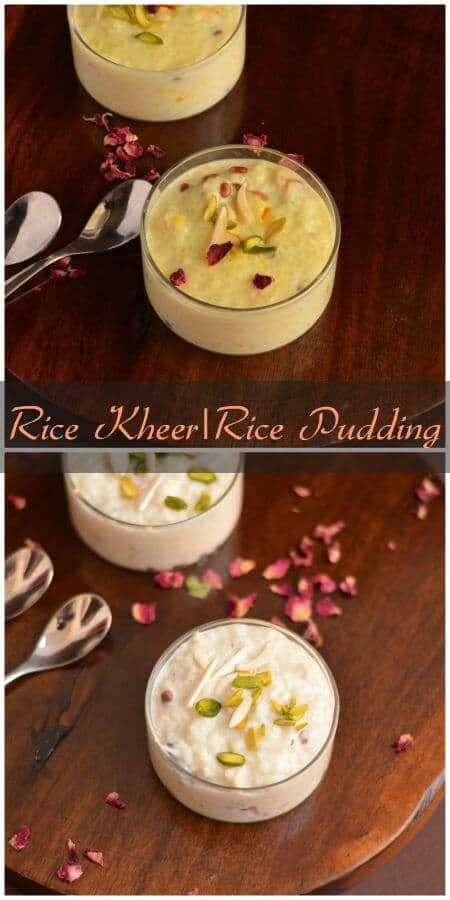 Rice Kheer Recipe | Indian Rice Pudding | How To Make Rice Kheer