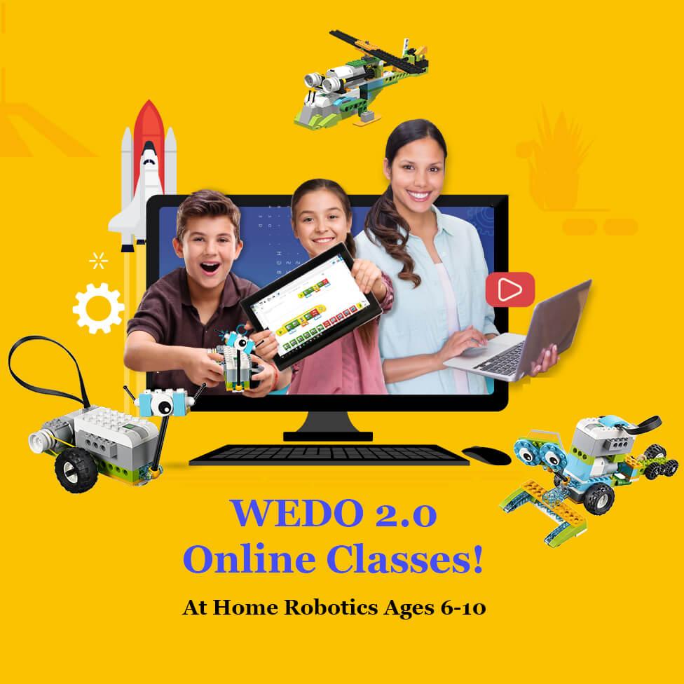 WEDO 2.0 Online Robotics Classes
