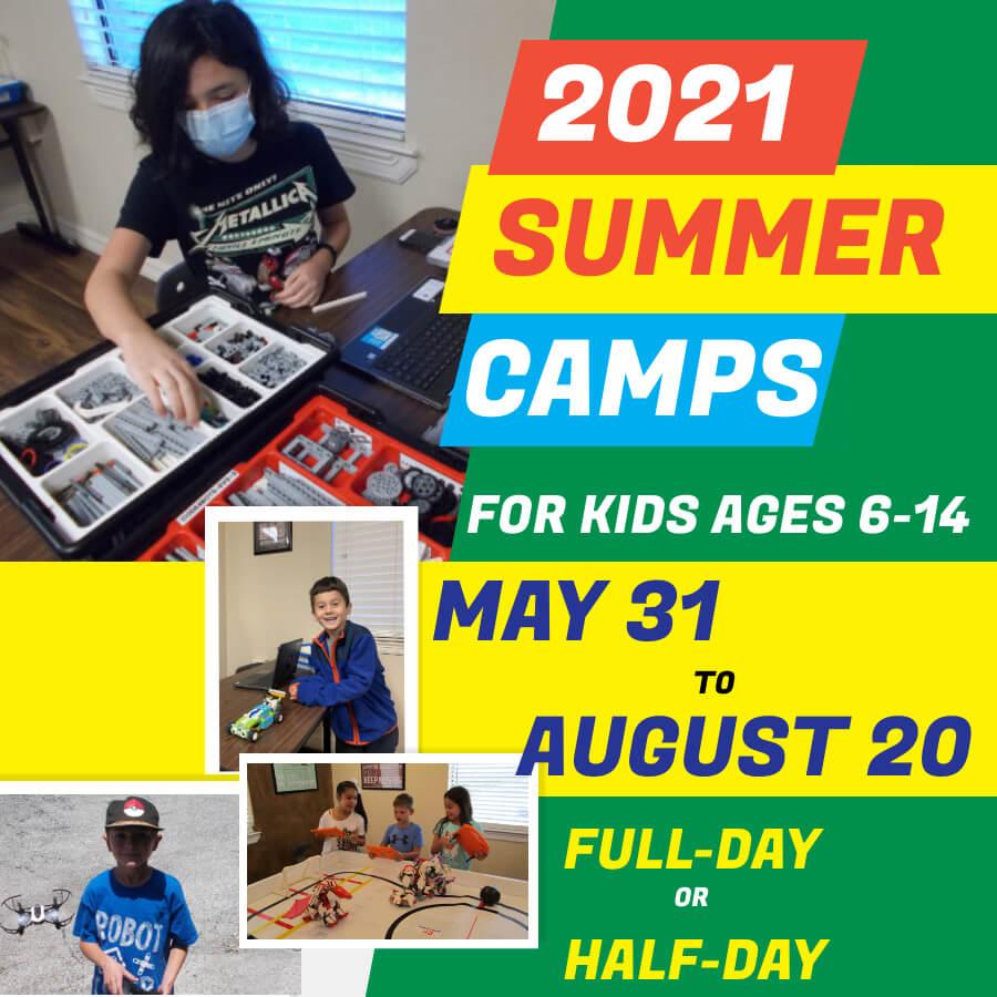 2021 STEM Summer Camps