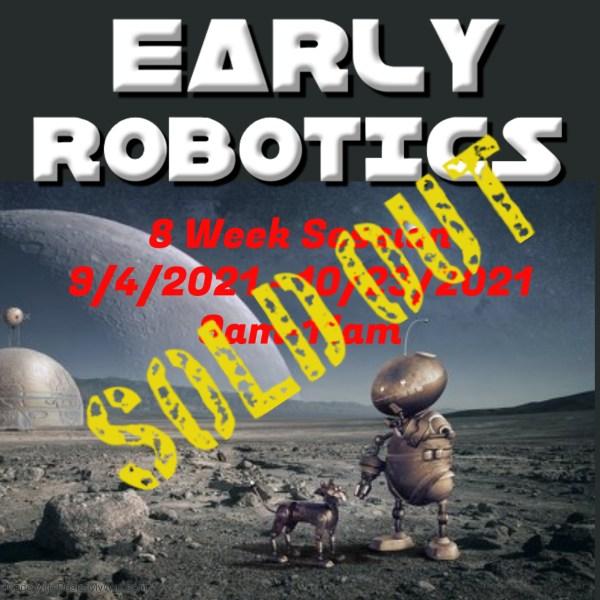 Early robotics classes are fun