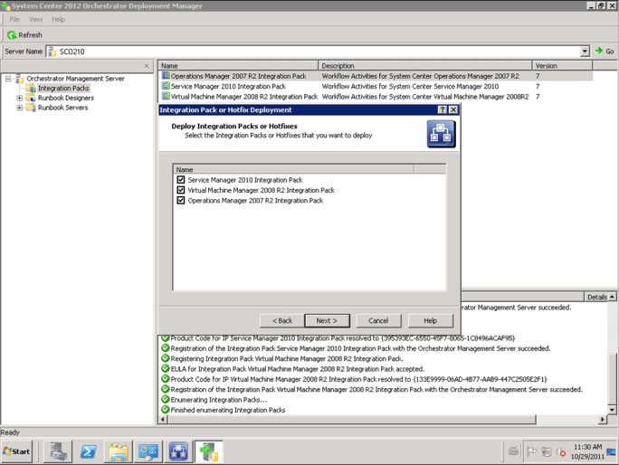System Center Orchestrator 2012 RC: Installed, now what