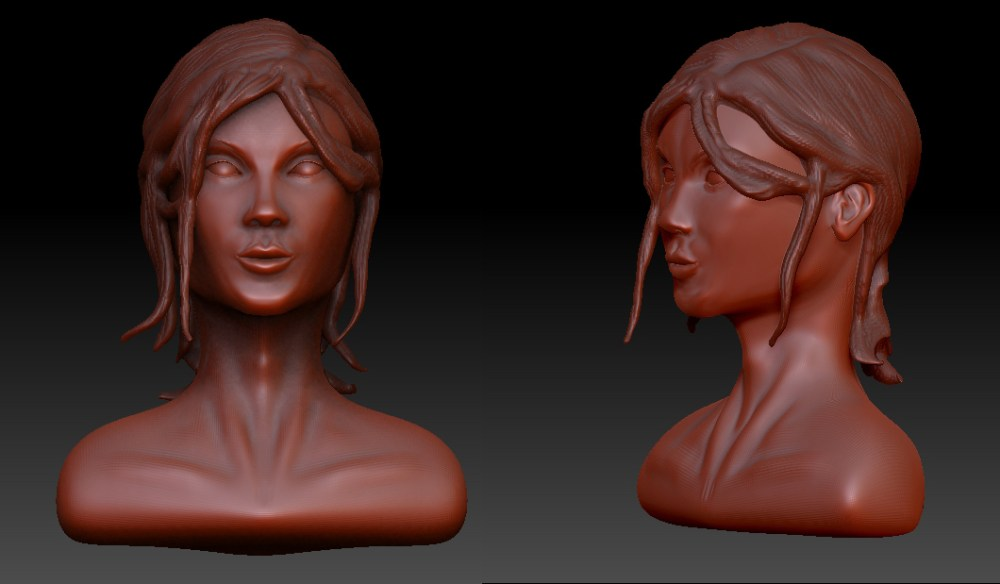Woman: Z-Brush Sculpt