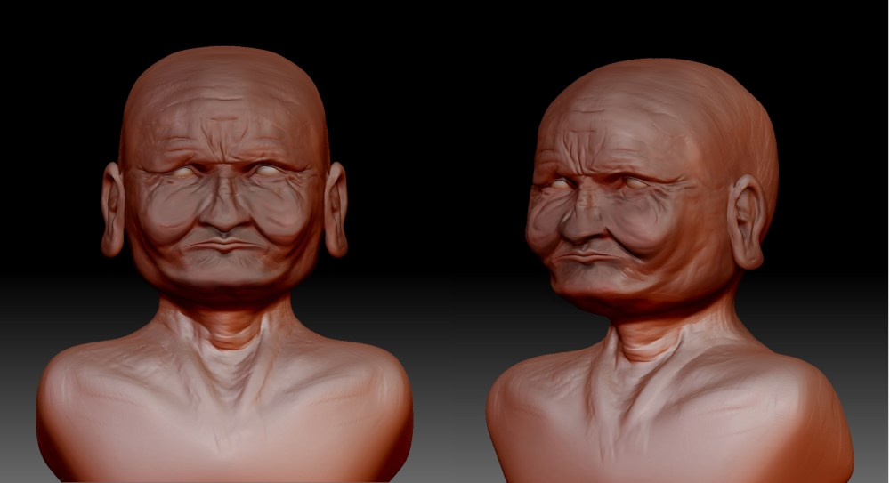 Old Woman: Z-Brush Sculpt