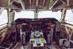 Jumbo Jet cockpit