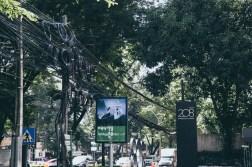 Wiereless road at Bangkok