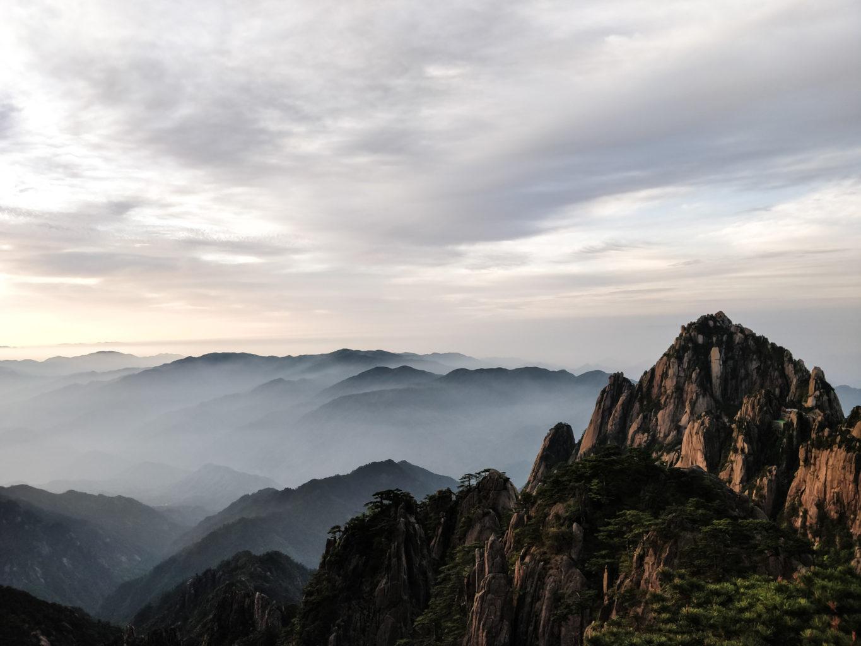 Poranek w Huanshan