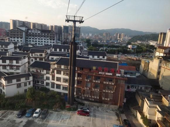 Kolejka linowa dociera do centrum miasta