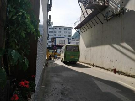 Bus do Szklanego Mostu