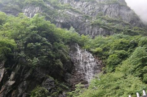 Wodospady z na górze Tianmen