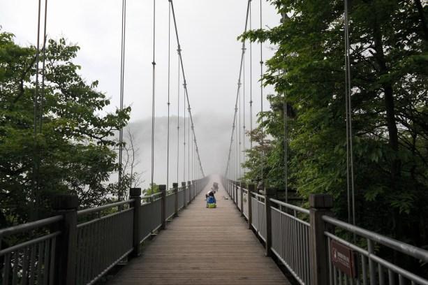 Most w zachodniej części góry