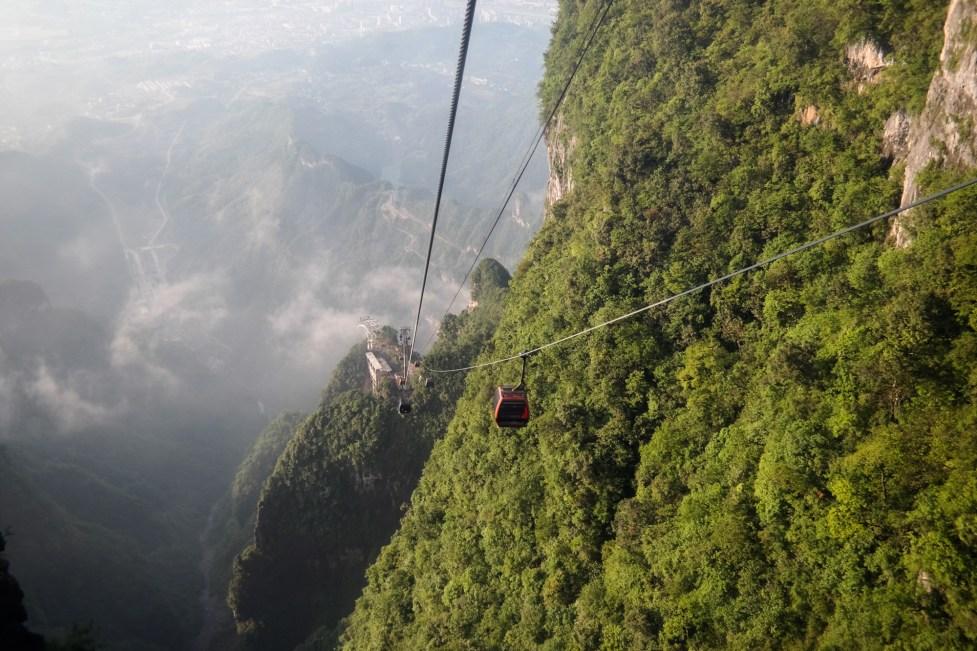 Najdłuższa na świecie kolejka linowa