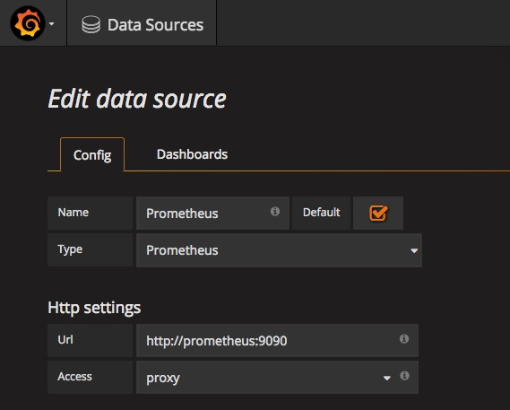 Scraping application metrics with Prometheus - Dots and