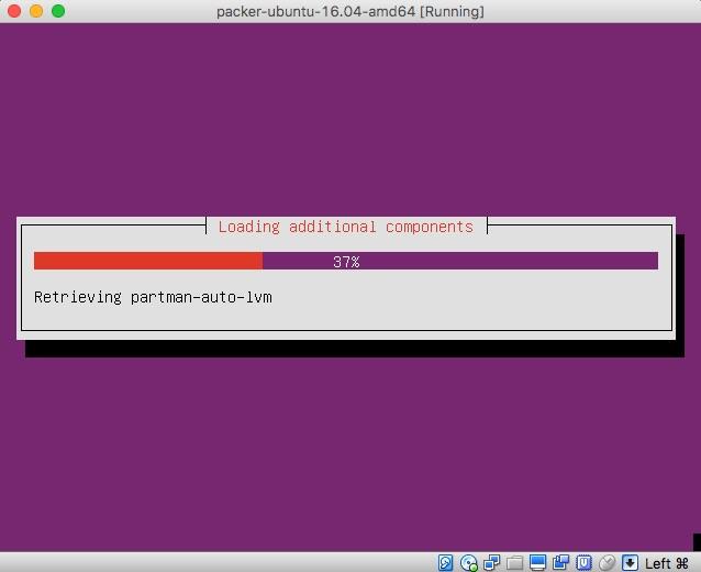 ubuntu install progress