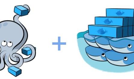 docker compose + swarm = docker stack