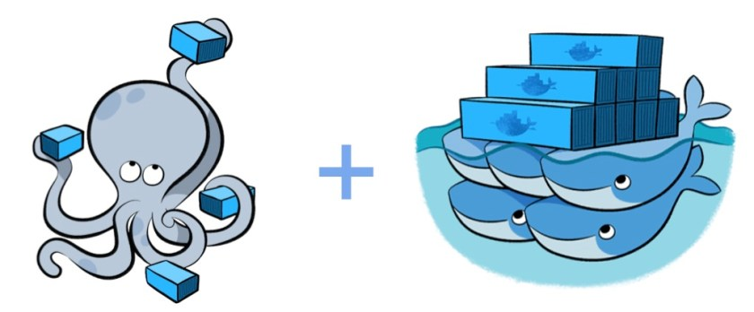 docker compose + swarm = docker stack