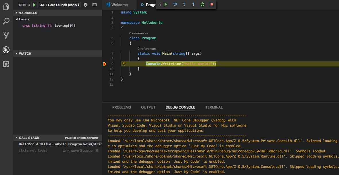Private vscode extensions