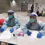 health workers airport_DG