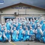 top glove female hostel