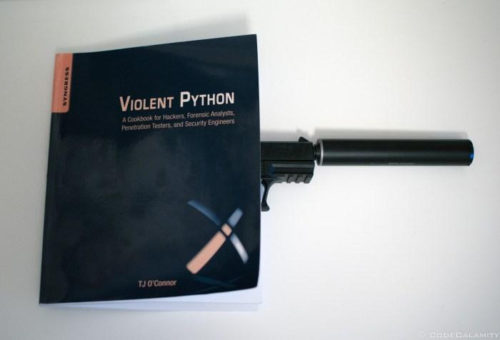 Book Review Violent Python Code Calamity