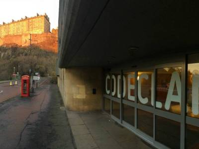 CodeClan on Castle Terrace