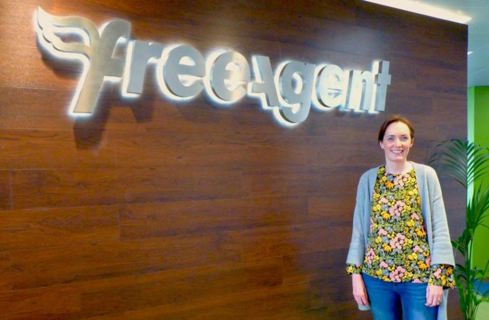 Kat at FreeAgent