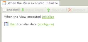 3. Adding Transfer Data Action