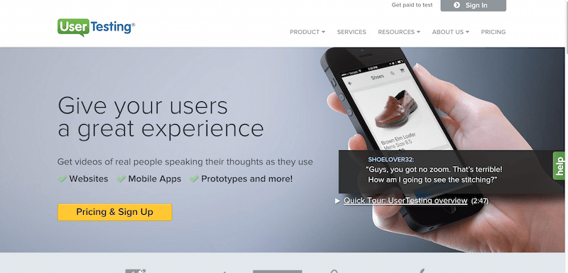 UserTesting  Usability Testing Made Easy