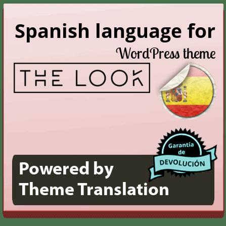 Traducir tema The Look español