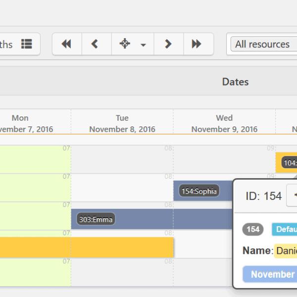 Reseras WP Booking Calendar