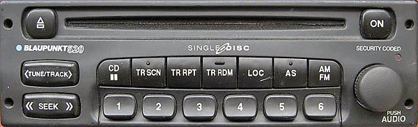 Blaupunkt 520 Bp8391 Without Display