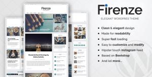 Firenze - Clean & Elegant Blog Theme