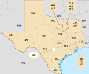 Area code 210 With ZIP CODE (78101 – 78073)