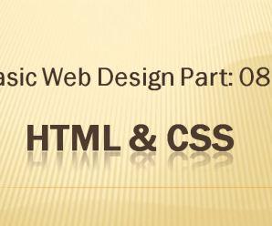 Lesson-08: Basic Webdesign: Part-08