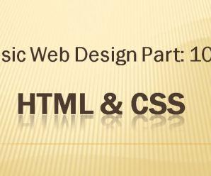 Lesson-10: Basic Webdesign: Part-10