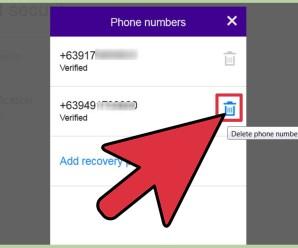 Yahoo Change Phone Number – Easy Beauty Tips