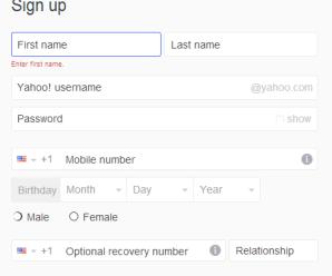 How To Create A Yahoo Account Free
