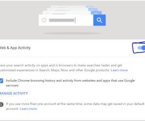 Google Hidden Trick – Google Activity