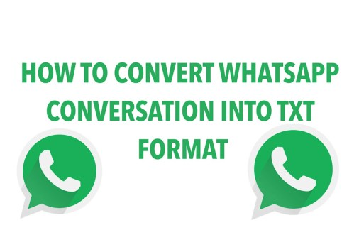 Convert WhatsApp Conversation