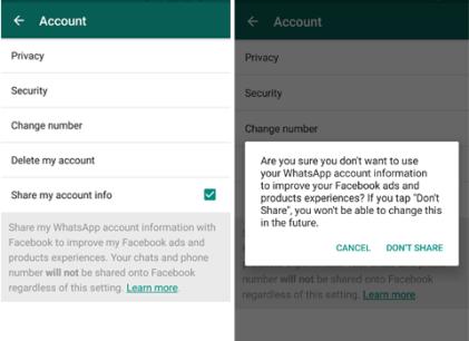 Protect WhatsApp Data