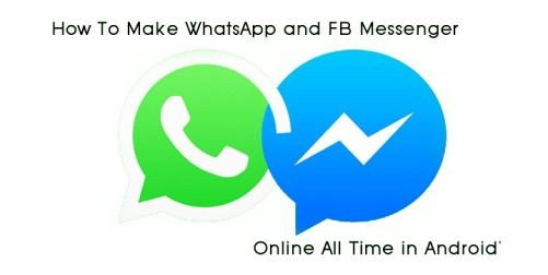 FB WhatsApp Online