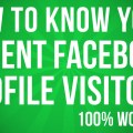 How To Check Facebook Profile Visitors