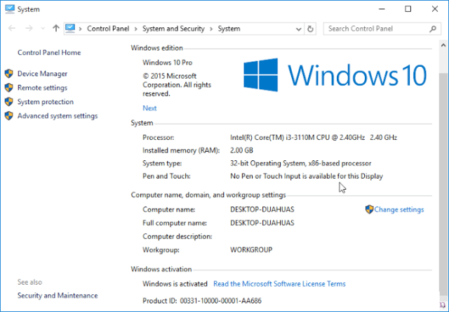 windows-10-for-free Active