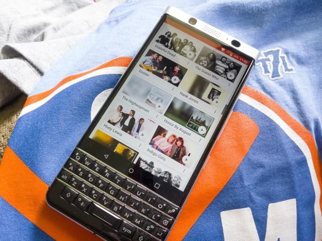 Blackberry Music Apps